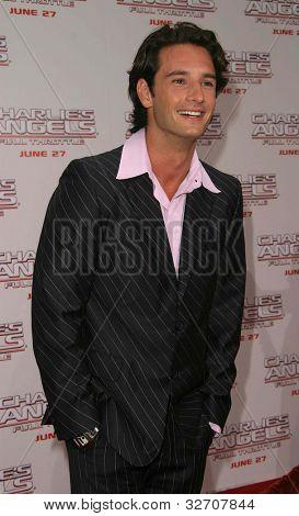 LOS ANGELES - JUN 18: Rodrigo Santoro at the premiere of 'Charlie's Angels: Full Throttle' on June 18, 2003 in Los Angeles, California