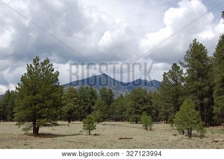 Mount Humphrey, San Francisco Peaks, Dormant Volcano, Flagstaff, Arizona.