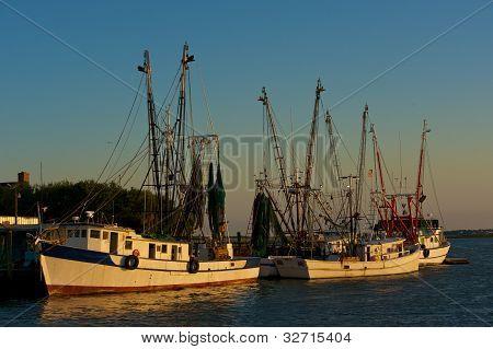 Shrimp Boats at dock