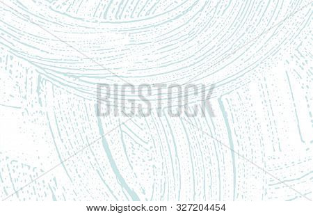 Grunge Texture. Distress Blue Rough Trace. Classy Background. Noise Dirty Grunge Texture. Outstandin