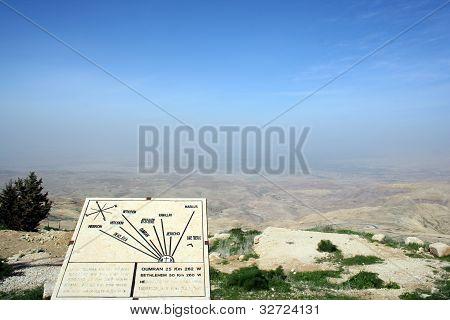 Berg Nebo in Jordanien