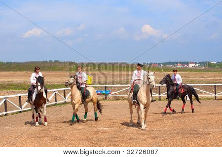 Cossacks On Horses