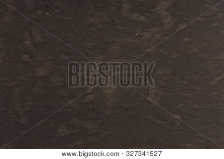 Close Up Of Dark Brown Marble Texture Background.