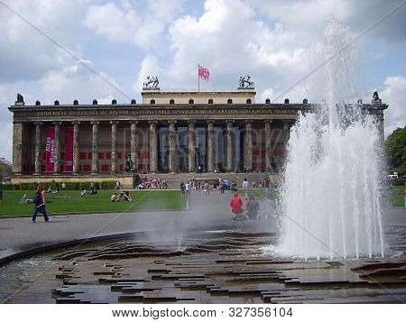 Berlin, Germany - August 05, 2010: Altes Museum (the Old Museum) In The Center Of Berlin
