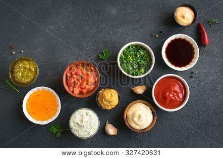 Set Of Sauces