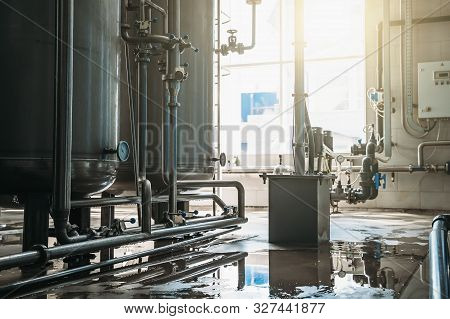 Production factory drinking water