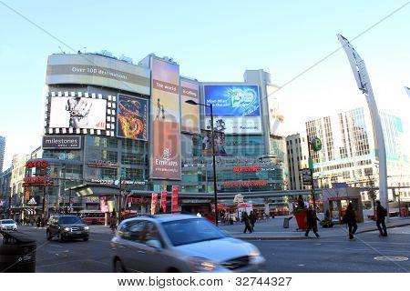 Dundas Square, Toronto, Canada