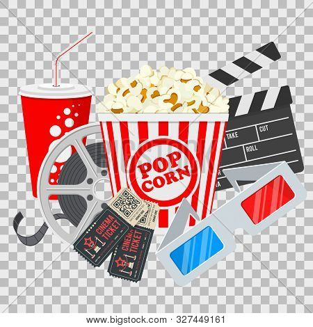 Cinema Movie Time Vector Photo Free Trial Bigstock