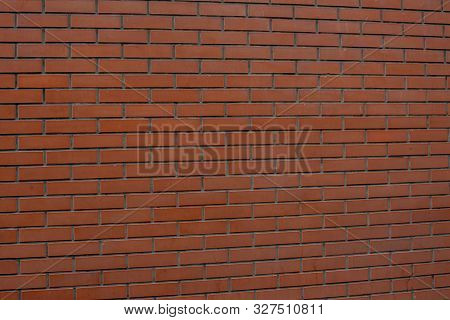 Brick Wall Background. Red Brick. Tiled Red Brick Wall. Brick Wall Background. The Red Brick Is Shot