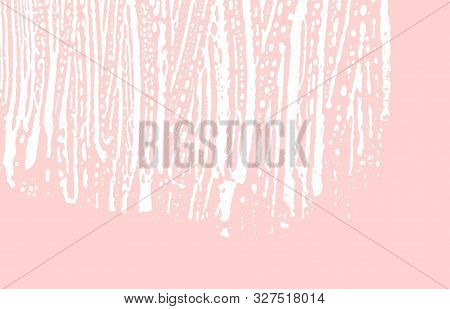 Grunge Texture. Distress Pink Rough Trace. Gorgeous Background. Noise Dirty Grunge Texture. Enchanti