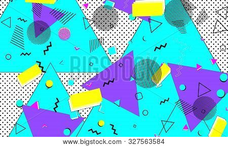 Hipster Ultramarine Artwork. Violet Fun Drawing. Cute Print. Lemon Flyer. Spotty Design. Purple Mini