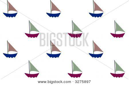 Sail Boat Wall Paper