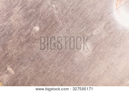 Steel Background With Rubbed Stained Surface For Use