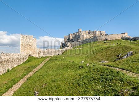 Spissky Hrad (spis Castle) - Unesco World Heritage Site In Eastern Slovakia, Central Europe