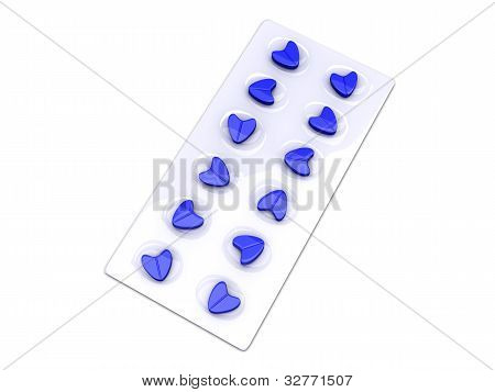 Blue Love Pills