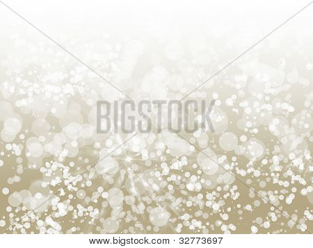 Champagne Sparkle Abstract Bokeh