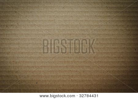 Brown Cardboard Surface Background