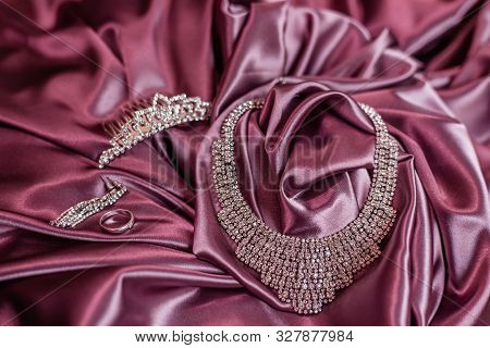 Tiara, Necklace, Earrings And Ring