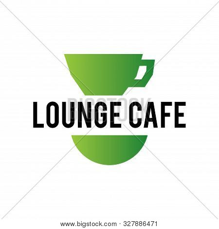 Vector Logo Lounge Cafe, Leisure And Entertainment