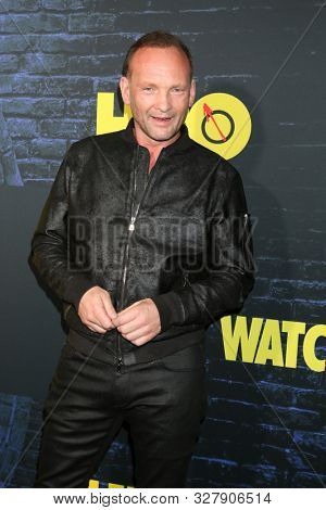 LOS ANGELES - OCT 14:  Andrew Howard at the HBO's Watchman Premiere Screening at the Cinerama Dome on October 14, 2019 in Los Angeles, CA