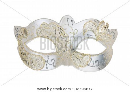 The White Carnival Mask