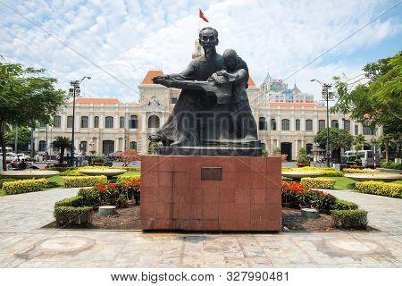 Ho Chi Minh City, Vietnam - March 7, 2013 : Ho Chi Minh City Hall
