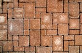 paving blocks architecture old stone texture urban poster