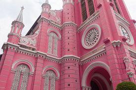 Tan Dinh Church - The Pink Catholic Church In Ho Chi Minh City, Vietnam