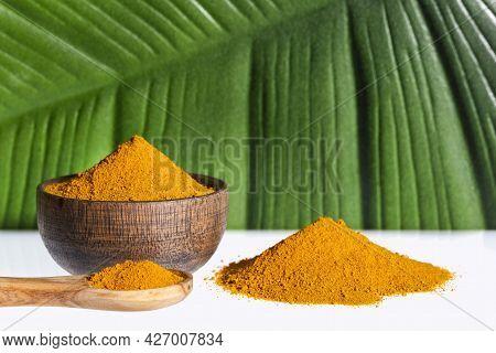 Turmeric Powder - Curcuma Longa. Healthy Food