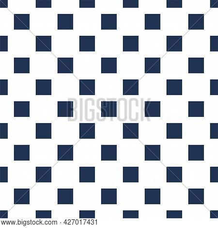 Simplae Geometric Seamless Pattern Vector. Easy Background For Web Or Print. Abstract Surfece.
