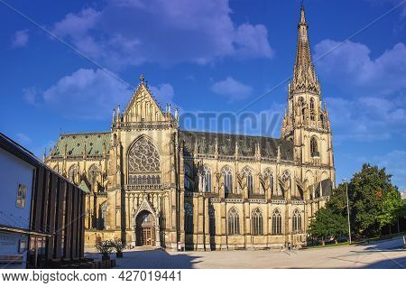 New Cathedral Or Cathedral Of The Immaculate Conception Or St. Mary Church Is A Roman Catholic Cathe