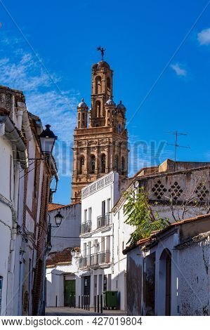 Church Of Our Lady Of Granada, Llerena, Extremadura In Spain