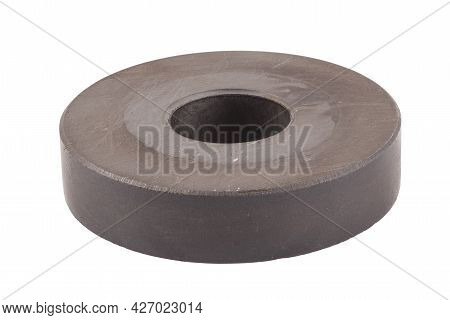 Ring Permanent Magnet Isolated On White Background