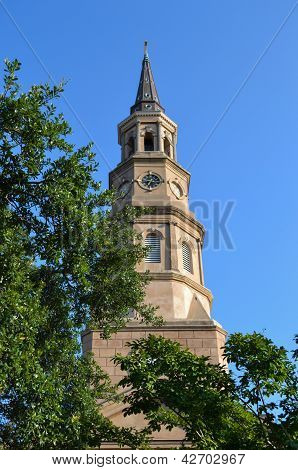 Steeple Reaching For The Sky