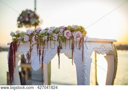 Wedding Ceremony Desk, Marriage, Marriage Organization, Wedding Table