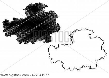 Neustadt (aisch)-bad Windsheim District (federal Republic Of Germany, Rural Middle Franconia, Free S