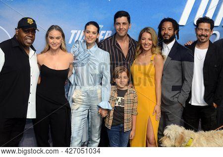 LOS ANGELES - JUL 15:  Cast at Disney+