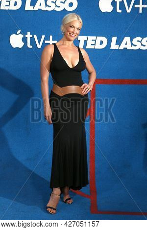 LOS ANGELES - JUL 15:  Hannah Waddingham at the Ted Lasso Season 2 Premiere Screening at the Pacific Design Center Rooftop on July 15, 2021 in Los Angeles, CA