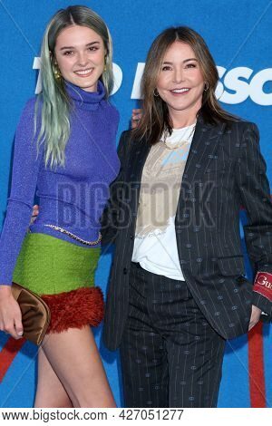 LOS ANGELES - JUL 15:  Charlotte Lawrence, Christa Miller at the Ted Lasso Season 2 Premiere Screening at the Pacific Design Center Rooftop on July 15, 2021 in Los Angeles, CA