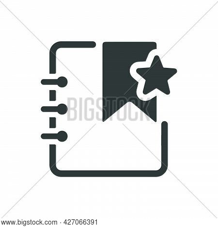 Bookmark Icon. Meticulously Designed Vector Eps File.