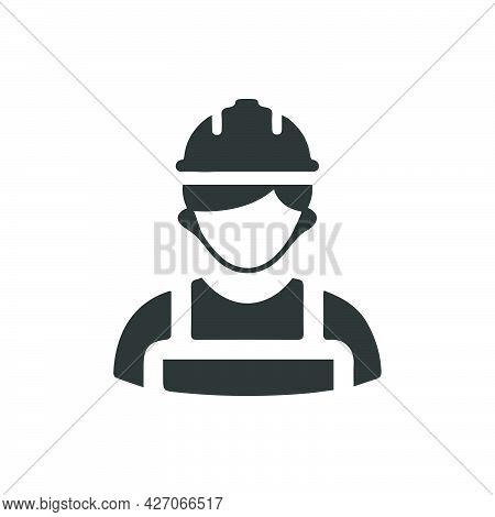 Contractor Icon. Meticulously Designed Vector Eps File.