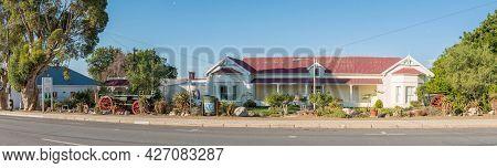 Prince Albert, South Africa - April 20, 2021: The Fransie Pienaar Museum In Prince Albert In The Wes