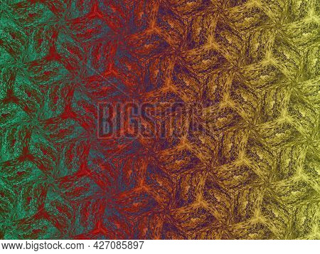 Cute Bright Seamless Patterns. Abstract Seamless Pattern On Vibrant Background. Fashion Universal Pa