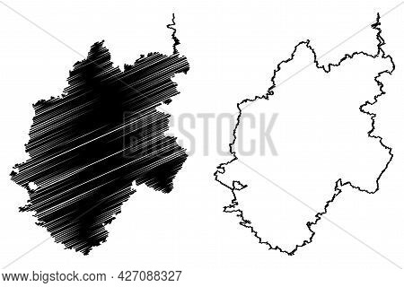 Nurnberger Land District (federal Republic Of Germany, Rural District Middle Franconia, Free State O