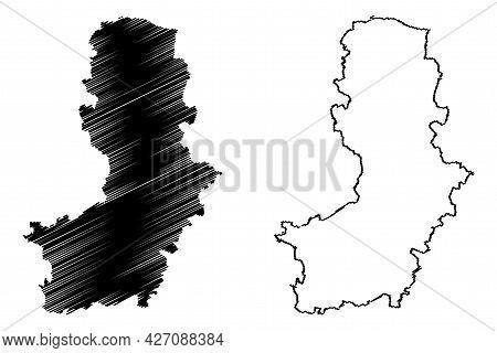 Oberspreewald-lausitz District (federal Republic Of Germany, Rural District, State Of Brandenburg) M