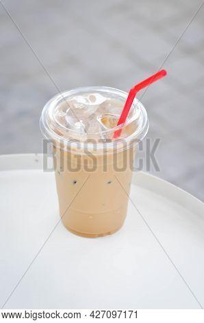 Coffee , Iced Coffee Or Iced Latte Coffee Or Iced Mocha Coffee