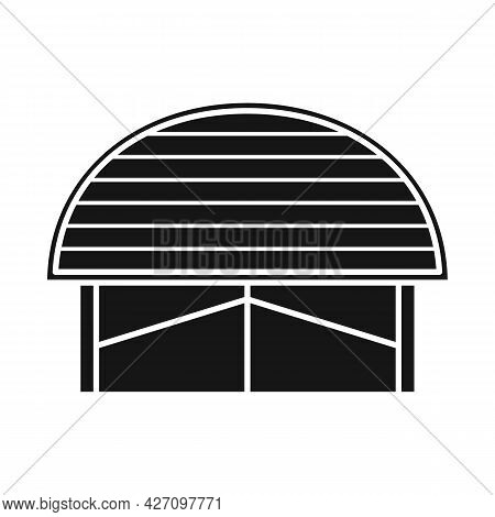Isolated Object Of Warehouse And Awning Logo. Web Element Of Warehouse And Storage Vector Icon For S