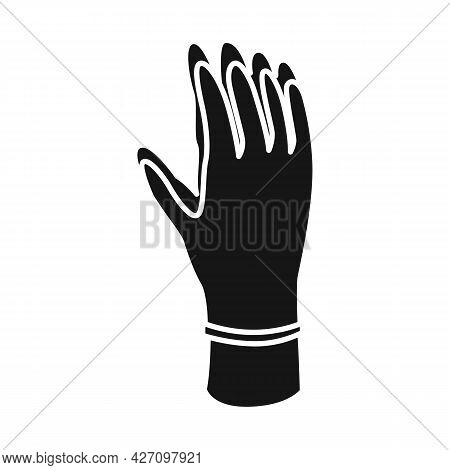Vector Design Of Glove And Hand Logo. Graphic Of Glove And Gauntlet Stock Vector Illustration.