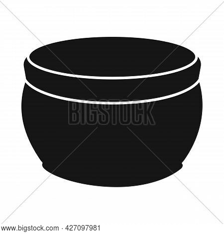 Vector Illustration Of Sunscreen And Container Icon. Graphic Of Sunscreen And Cream Stock Symbol For