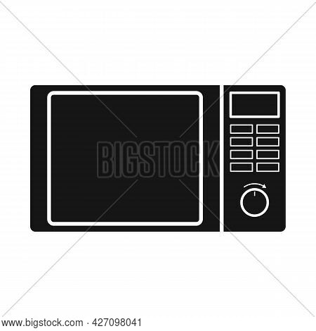 Vector Illustration Of Microwave And Oven Logo. Web Element Of Microwave And Stove Vector Icon For S